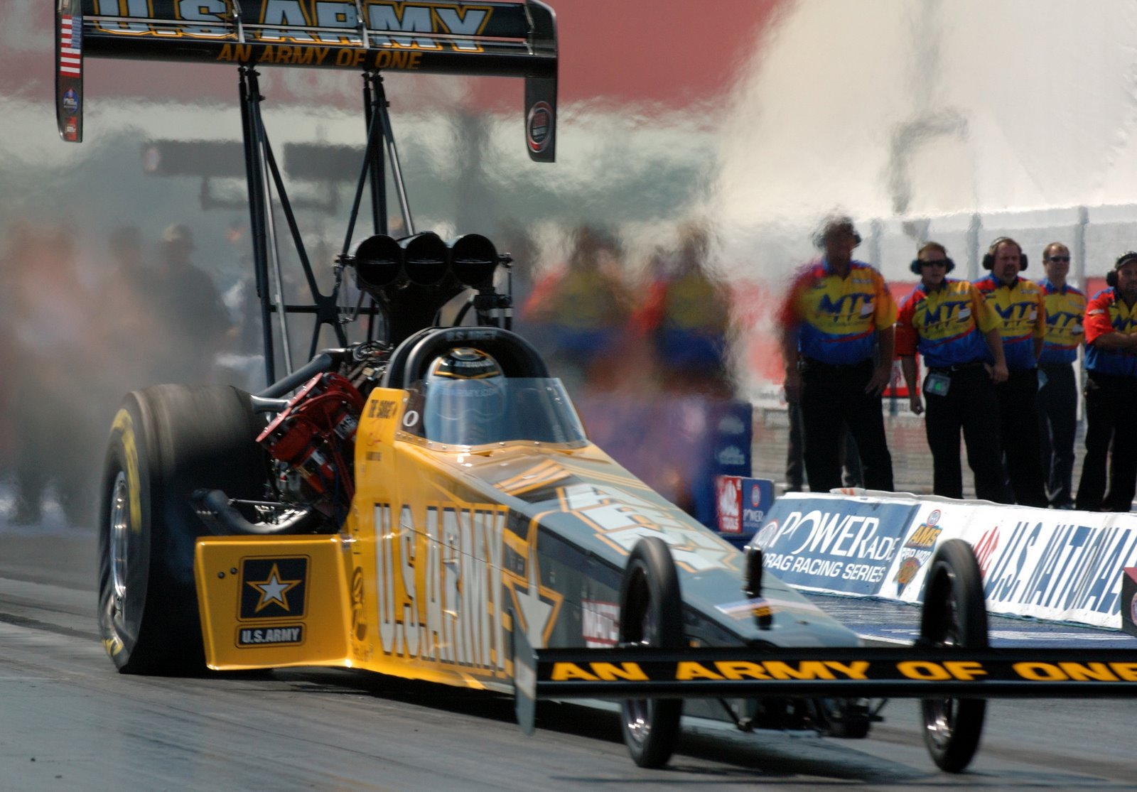 NHRA top fuel dragster