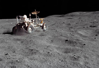 NASA Lunar Roving Vehicle (LRV), Image credit: NASA