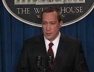 Deputy Press Secretary Tony Fratto VIDCAP from White House press briefing 02/23/07