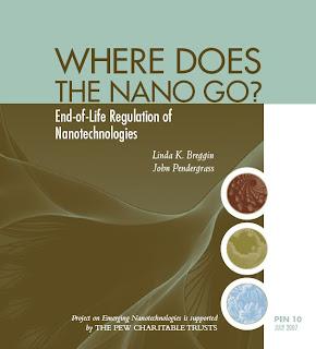 Where Does the Nano Go? End-of-Life Regulation of Nanotechnologies.