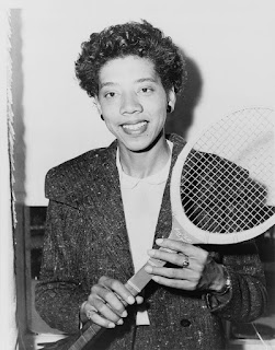 Althea Gibson,  Library of Congress, REPRODUCTION NUMBER:  LC-USZ62-114745