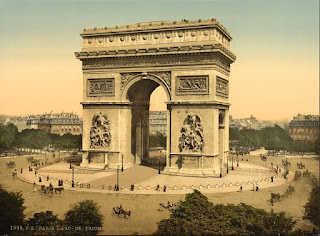 Arc de Triomphe, Credit Line: Library of Congress, Prints & Photographs Division, [reproduction number, LC-DIG-ppmsc-05204]