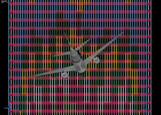 North Tower Simulation Run 11, Compute Time, 100 hours, 8 processors, 0.5 sec (nano-regatta)
