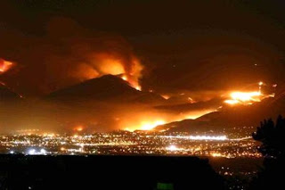 California Wild Fires, Surprise Field Office Fire Suppression Program, Department of the Interior