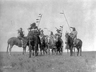 Native American Heritage Month Atsina Warriors, Credit Line: Library of Congress, Prints & Photographs Division, [reproduction number, LC-USZ62-41457]
