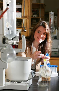Caption: Eva Harth in her laboratory. Credit: Neil Brake. Usage Restrictions: None.