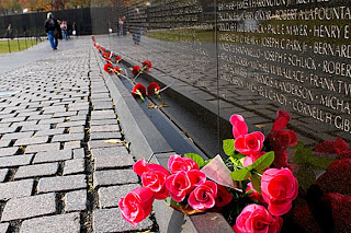 Vietnam Veterans Memorial Photo by Sgt. Sara Wood