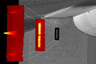 quantum cascade laser nanoantenna