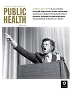 cover of the AJPH January 2010 issue