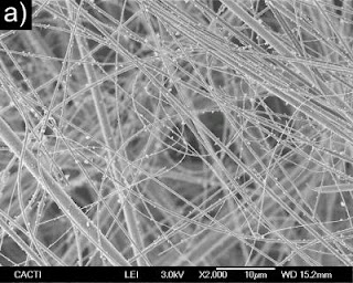 Nanofibers of Glass Fiber