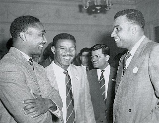 Frank Worrell Everton Weekes and Clyde Walcott -The 3W's