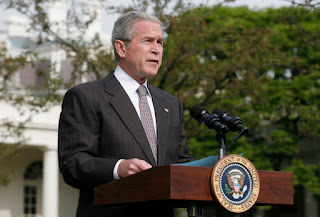 President Bush Discusses Economic Stimulus Rebate Checks VIDEO PODCAST
