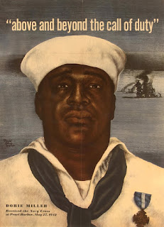 Dorie Miller with his Navy Cross