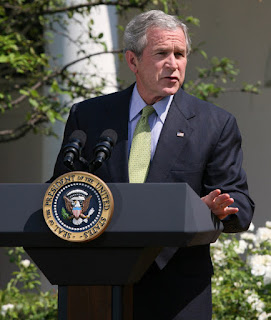 President Bush Discusses 2008 G8 Summit VIDEO