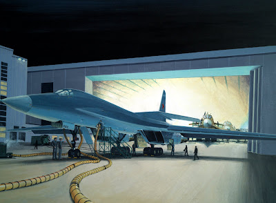 Tupolev Tu 160 Blackjack Bomber