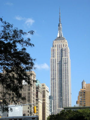 The Empire State Building Near and Far
