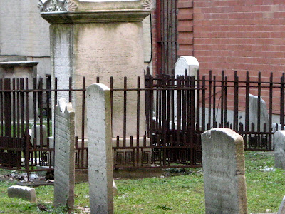 the Third Cemetery of The Spanish and Portuguese Synagogue Shearith Israel