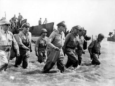 General Douglas MacArthur Returns Leyte, Philippine