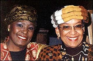 Peggy Brooks-Bertram (left) and Barbara Seals Nevergold