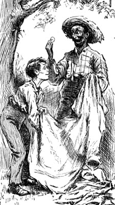 an analysis of the father figure in the adventures of huckleberry finn by mark twain Full answer in the mark twain classic book, adventures of huckleberry finn, the relationship between huck and jim seems unlikely, but their situation requires them.