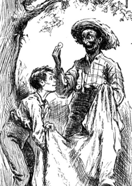 huck vs jim novel mark twain adventures hockleberry finn The adventures of huckleberry finn study guide contains a biography of mark twain, literature essays, a complete e-text, quiz questions, major themes, characters, and a full summary and analysis of huck finn.