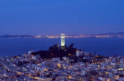 Coit Tower Telegraph Hill San Francisco, California