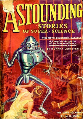Robot Astounding Stories of Super Science