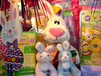 Goofy Easter Bunny and Easter Toys