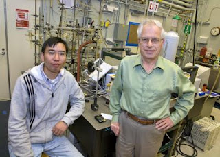 Feng Jiao and Heinz Frei, DOE/Lawrence Berkeley National Laboratory