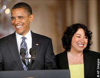 President Barack Obama Judge Sonia Sotomayor
