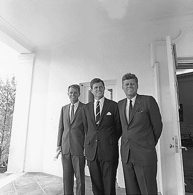 Attorney General Robert F. Kennedy, Senator Edward Moore Kennedy, President John F. Kennedy