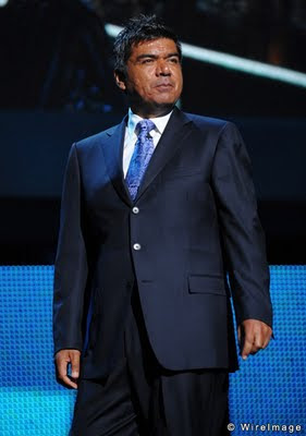 George Lopez photo by Dimitrios Kambouris of WireImage