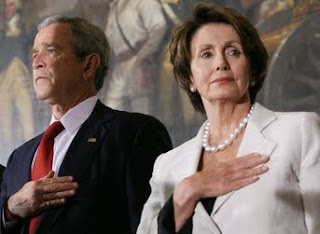 George Walker Bush, Nancy Pelosi