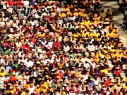 2010 FIFA World Cup Soccer City Crowd