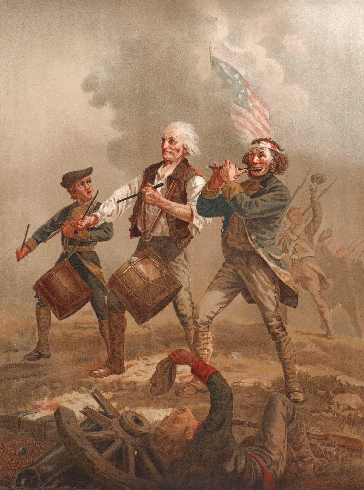 Spirit of '76 Yankee doodle 1776