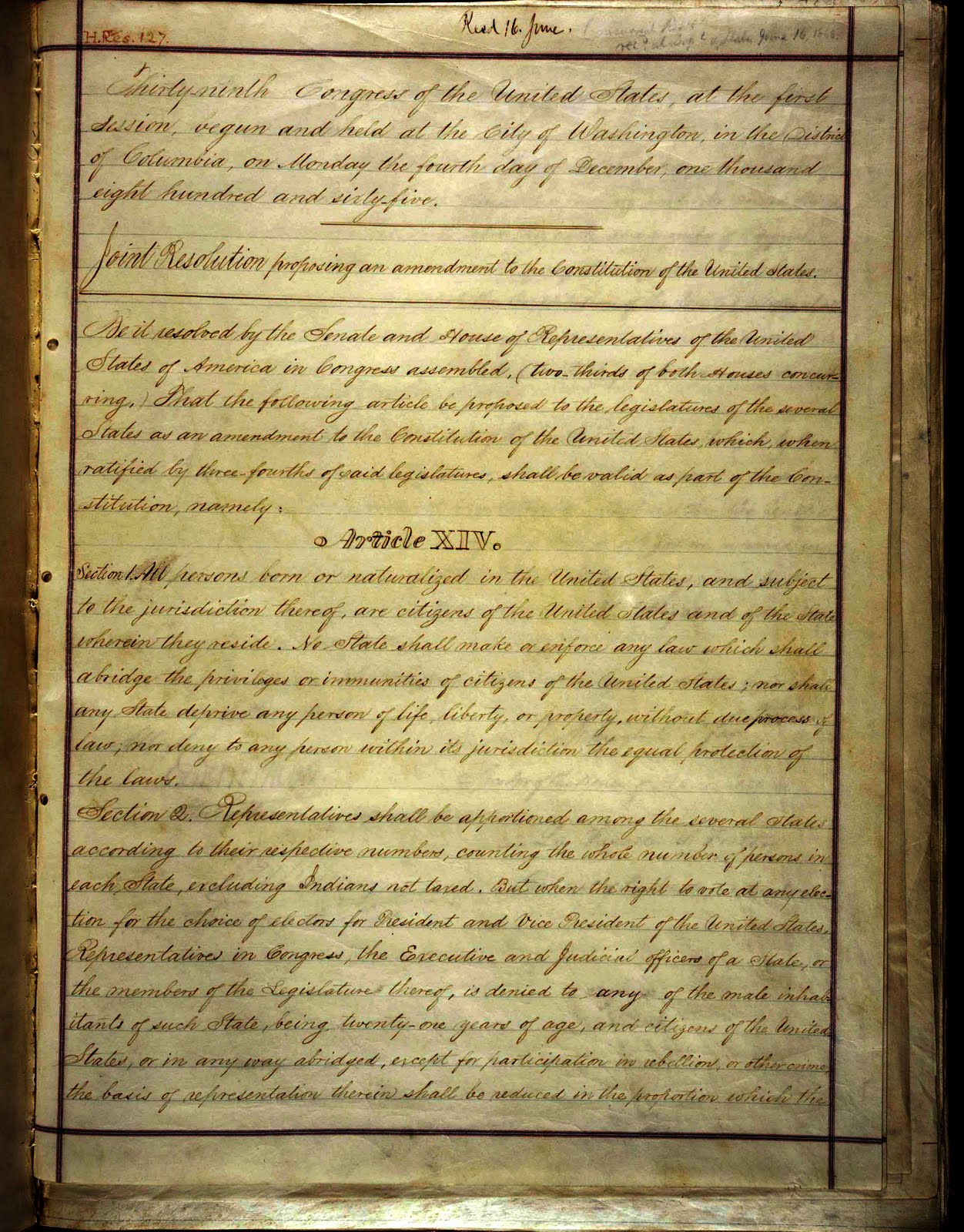 14th amendment section images frompo 1