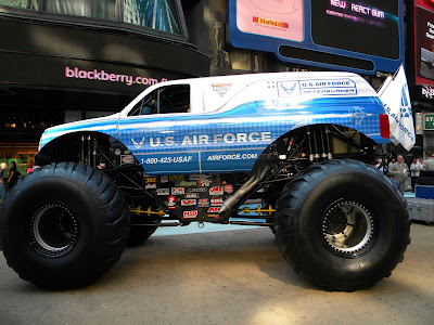Monster Trucks in Times Square