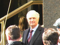 alan alda filming universal studios tower heist at 61st and columbus nyc