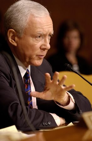 """a biography of orrin hatch an american senator Let the record reflect that, in his last term in the senate, orrin hatch went  under """" by saying trump may be the best president in us history."""