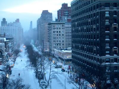 Winter Snow Storm New York City 12/26/10