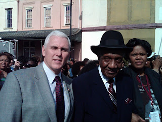 Congressman Mike Pence and Dr. F.D. Reese