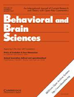 Behavioral and Brain Sciences