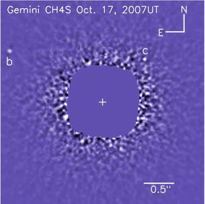 Extrasolar planetary system