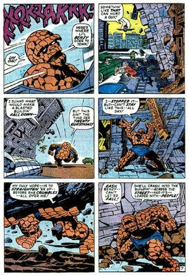 Fantastic Four art by Jack Kirby