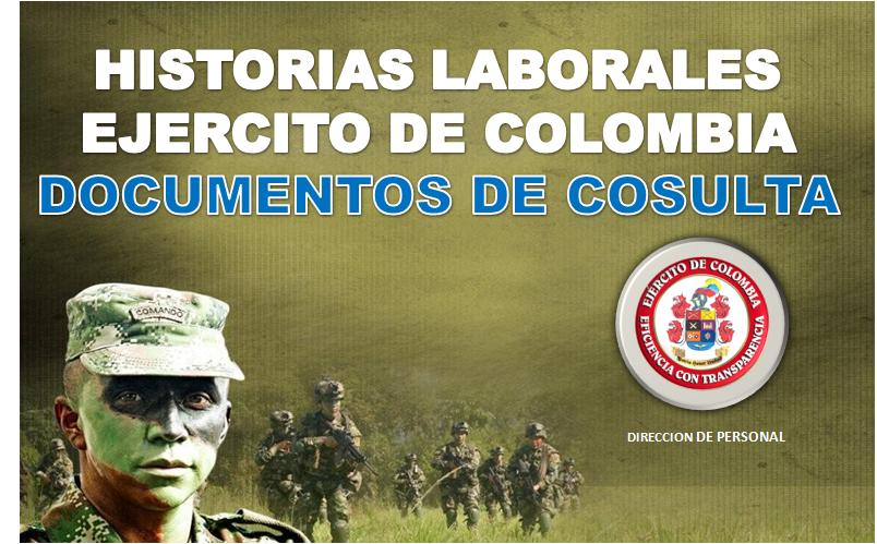 HISTORIAS LABORALES DOCUMENTOS
