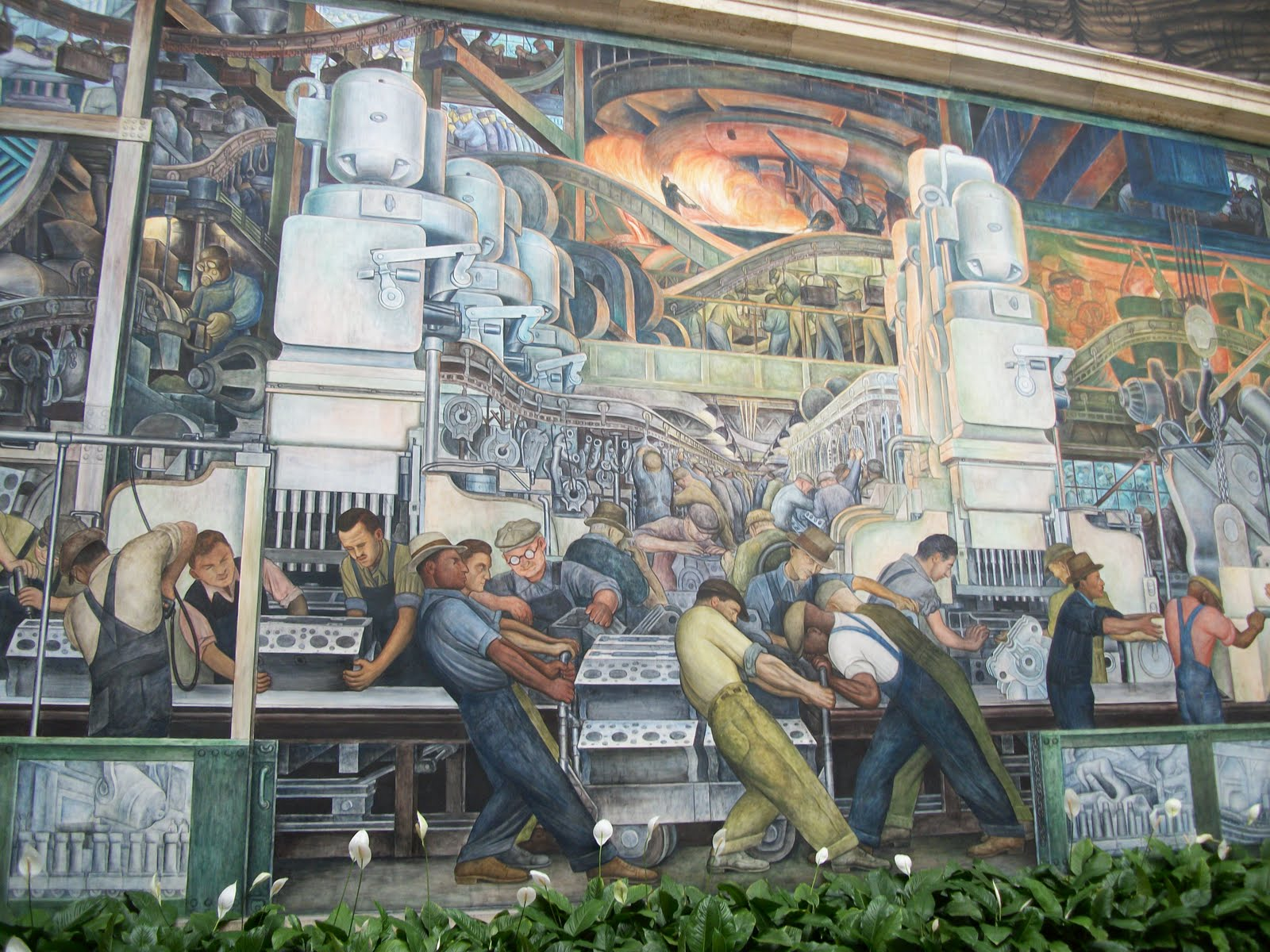 The news from basswood bend dia day for Diego rivera dia mural