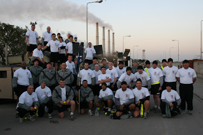 FOB Iskan 1-501st Christmas Day 2005, 5k Jingle Jog