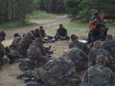 Field worship service, Warrior Forge, Fort Lewis, WA