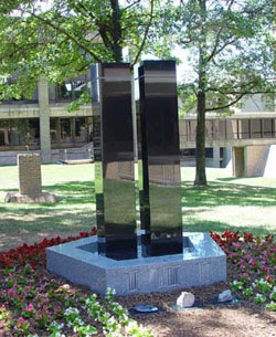 The FBI's 911 Memorial, on the grounds of the FBI Academy, Quantico, VA