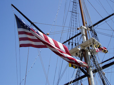 USS Constitution, Baltimore, MD, May 2007. She been in the fight for a long time. photo by, J. Chamberlain